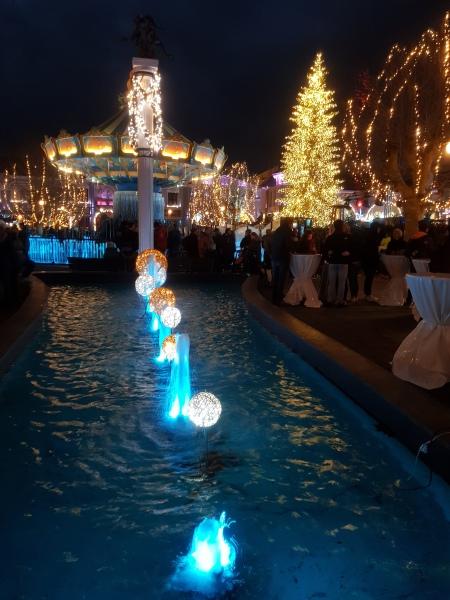betoverende lichtjes in wintertraum in phantasialand