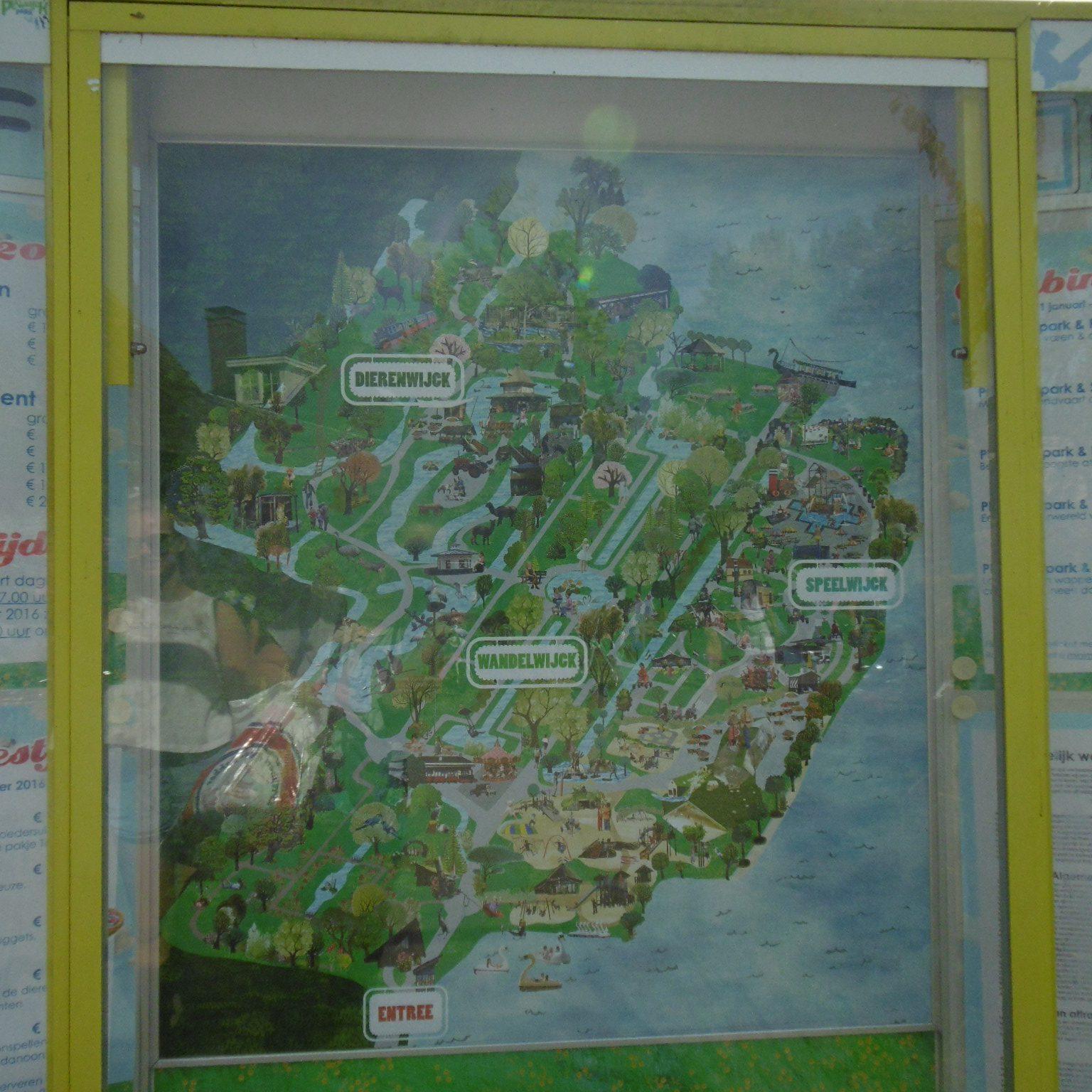 plaswijckpark plattegrond