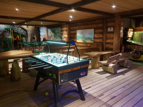 Landal Wirfttal game room