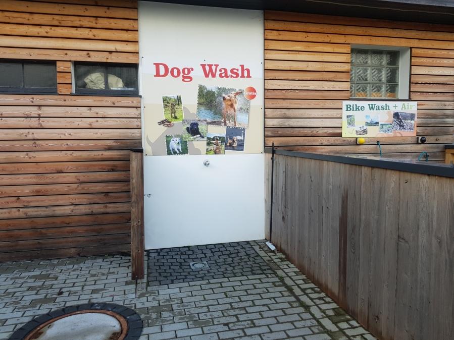 Landal Wirfttal dog wash