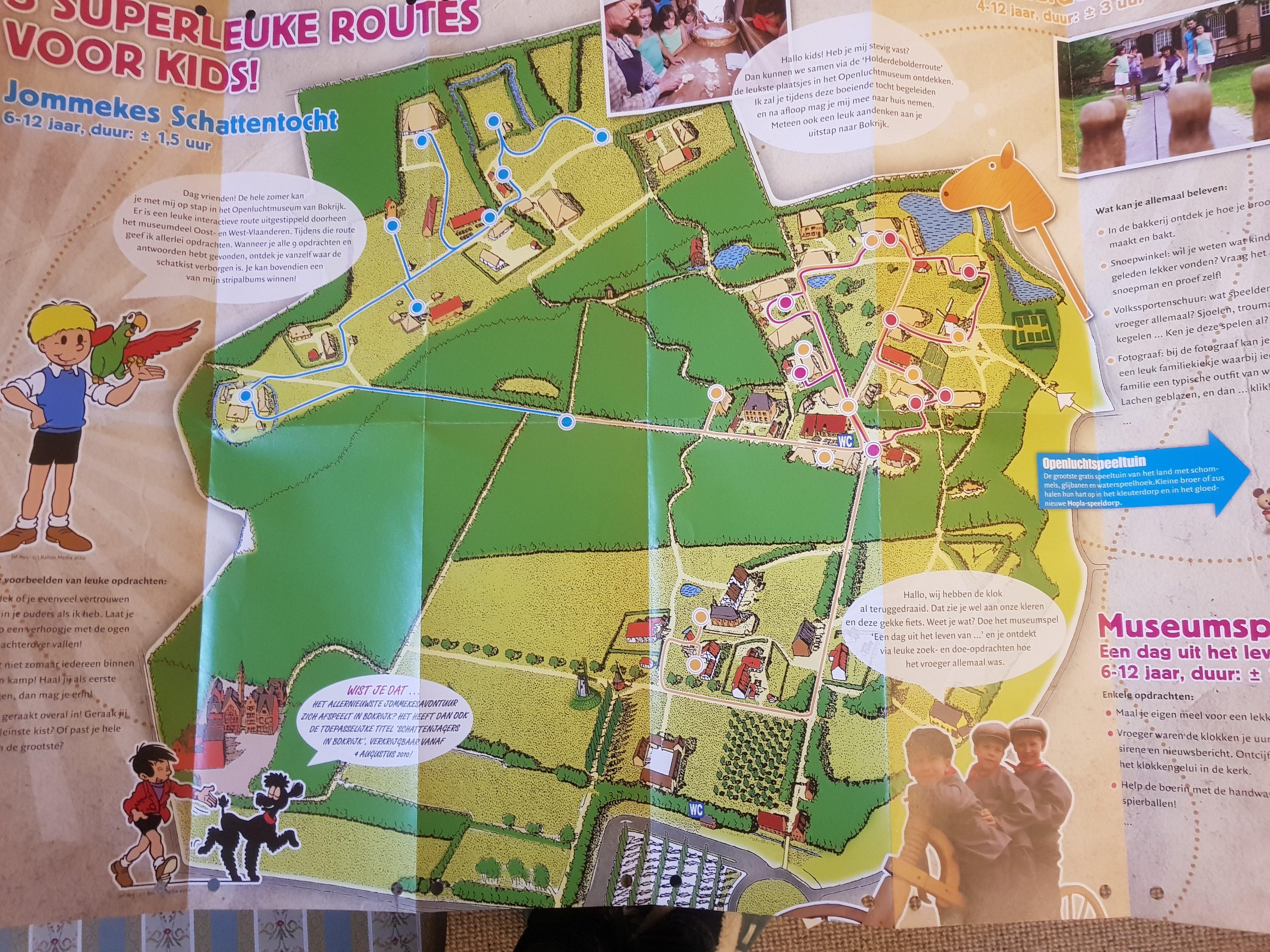 bokrijk map genk