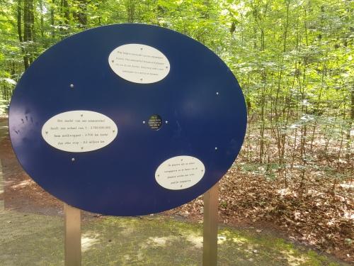 Sterrenwacht Hooghalen en het Melkwegpad