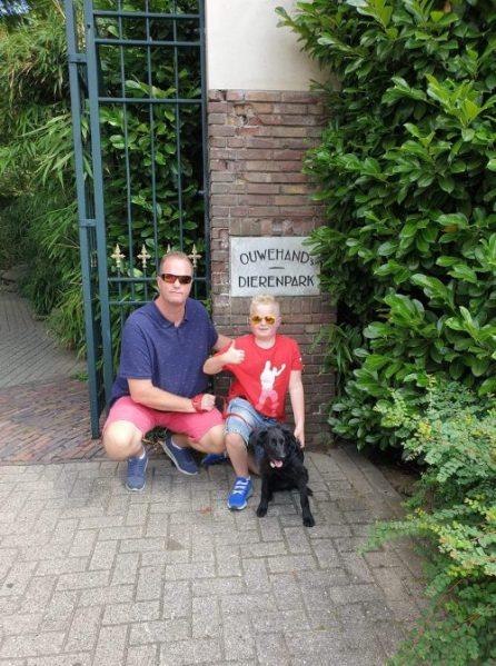 ouwehands dierentuin met hond