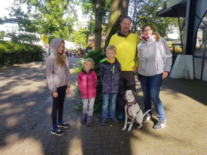 duinrell gezin met hond